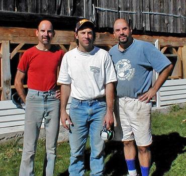 Ray, Ken & Steve Christensen