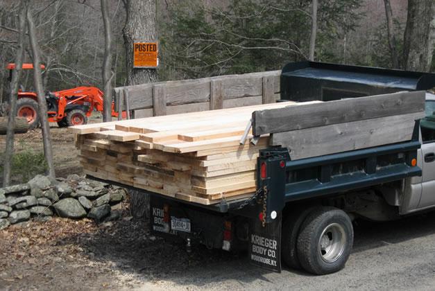 Lackawack Lumber NY sawmill