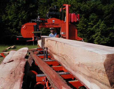 Milling lumber in Ulster County