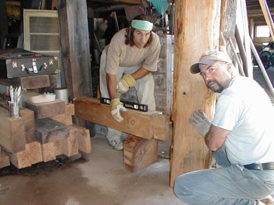 Carpentry for Barn renovations